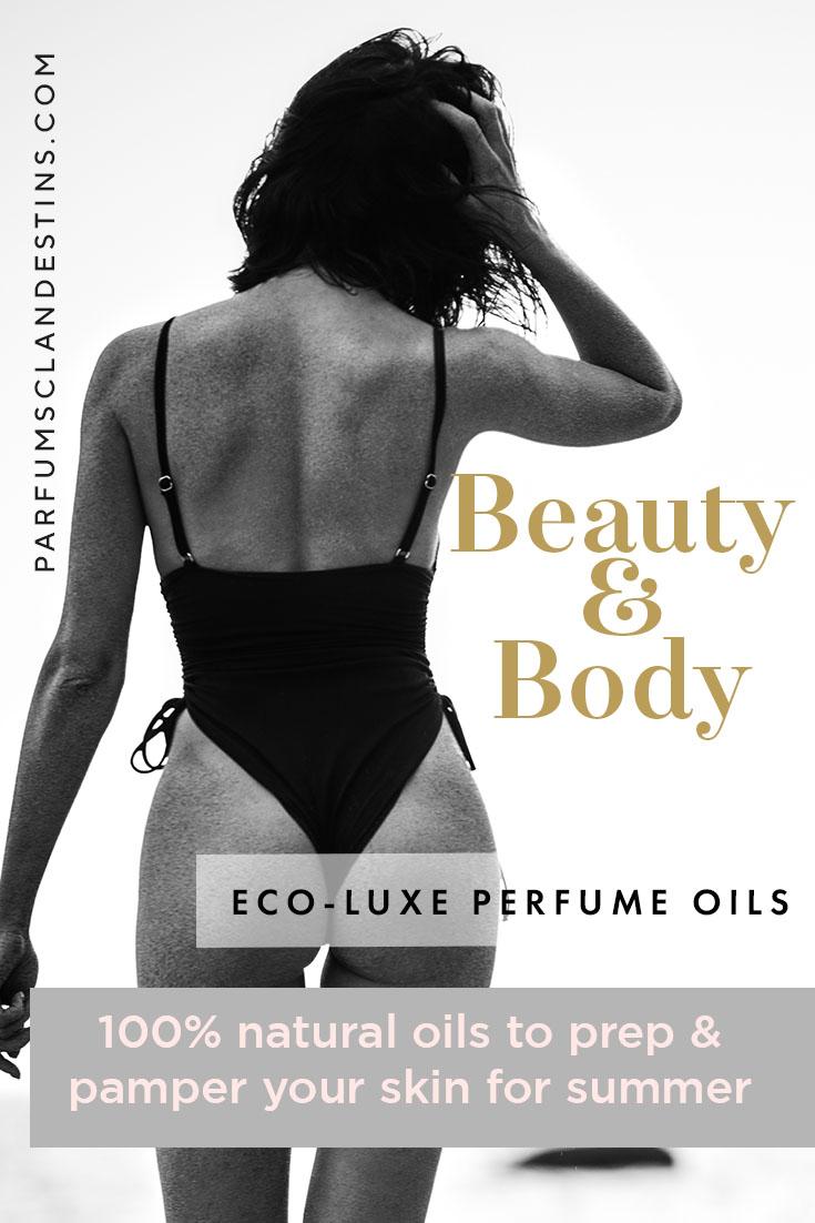 Perfume balms and oils