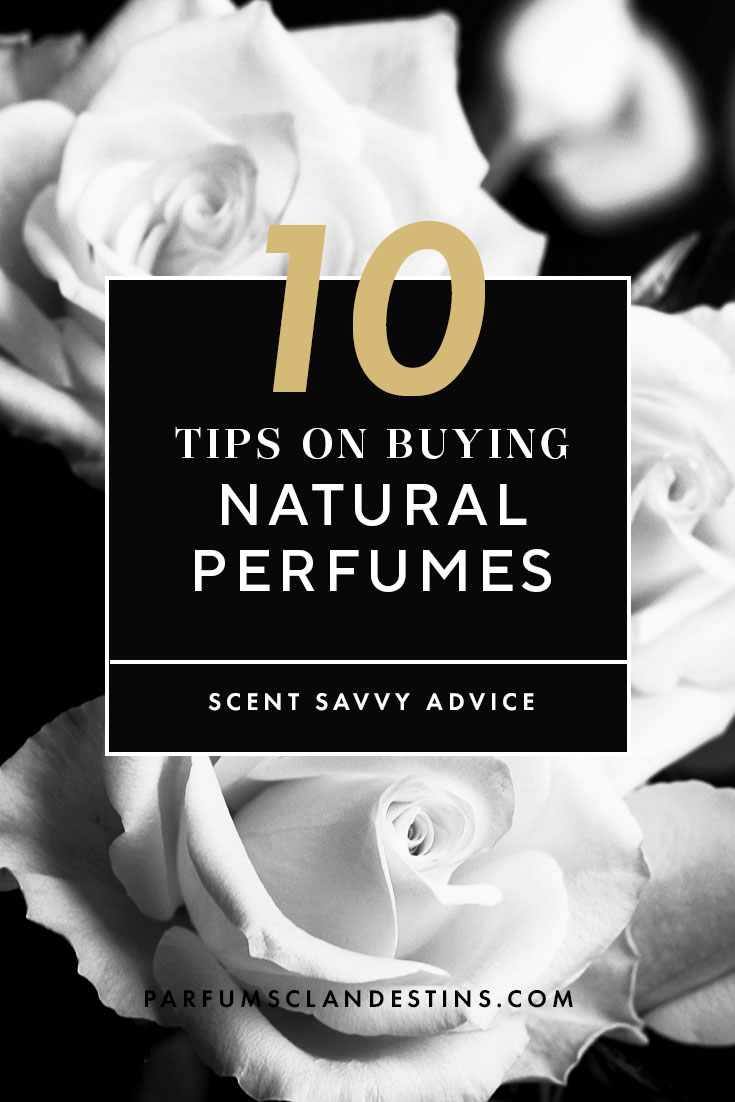 10 tips on buying natural perfumes