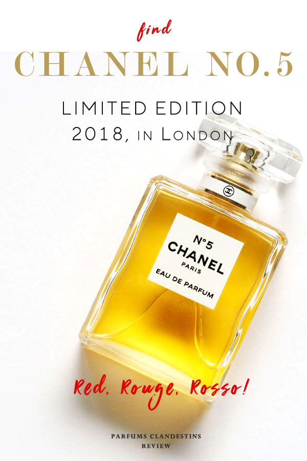 Seeing Red This Christmas With Chanel No 5 Parfums Clandestins