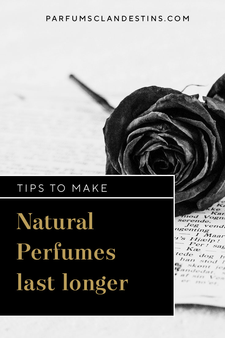 Tips to Make Natural perfumes last longer
