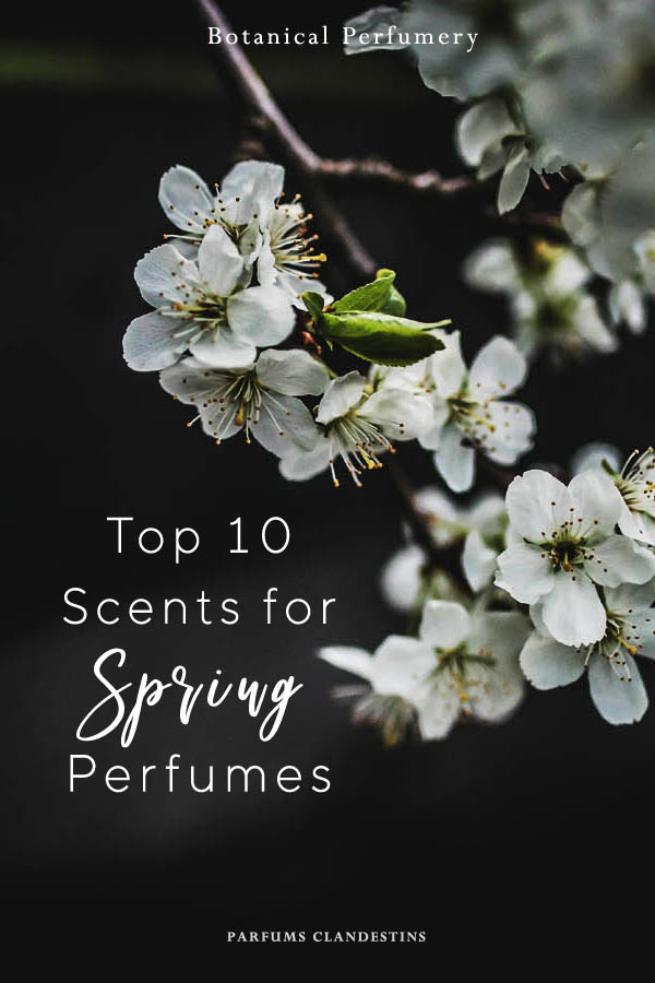 top 10 spring perfume scents