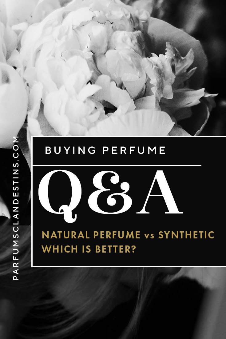 Natural perfume vs synthetic Q&A
