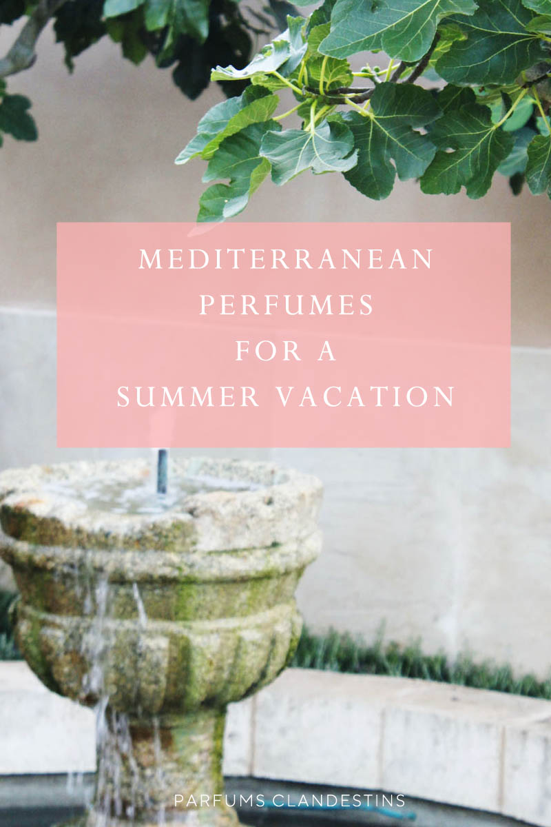 Best Mediterranean perfumes for a summer vacation