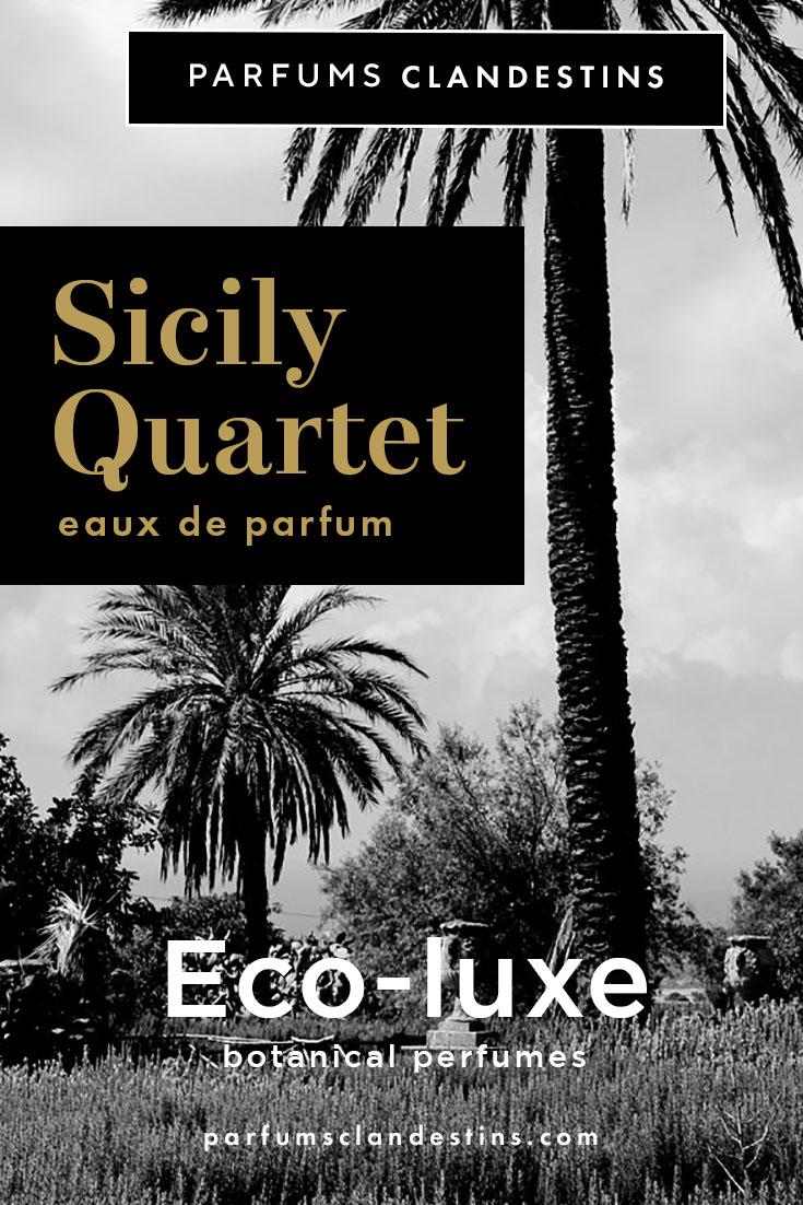 Sicily Quartet Eco Luxe natural perfumes