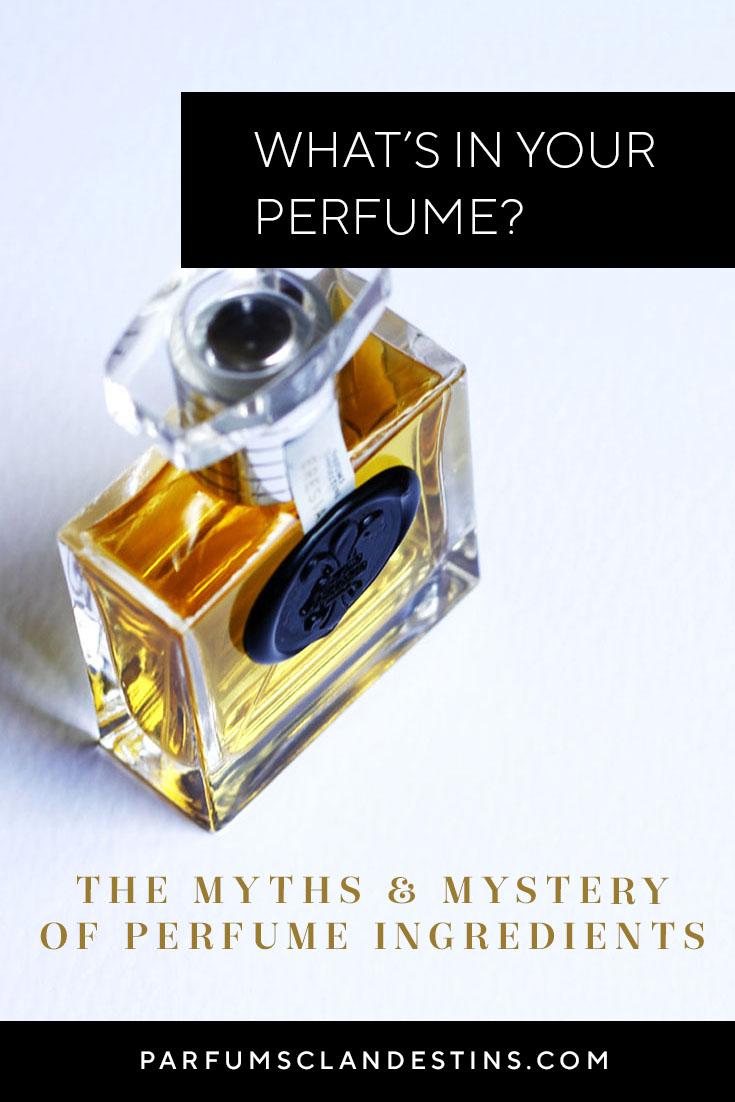 Perfume Buyers' Guide to Perfume Ingredients