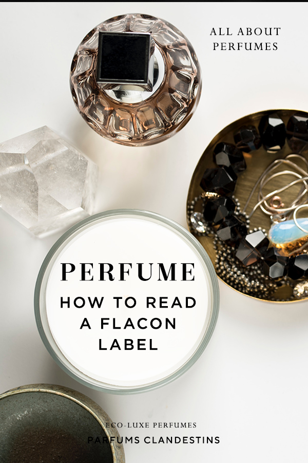 Perfume ingredients - How to Read the Label