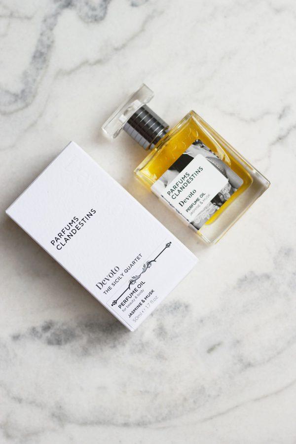 Devoto Perfume Oil Jasmine & Musk