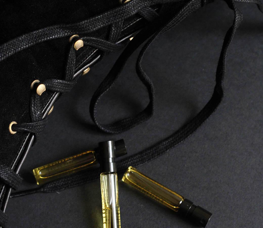 Jasmine leather perfumes
